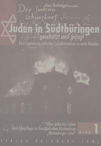 Volume 1 Jews in Southern Thuringia